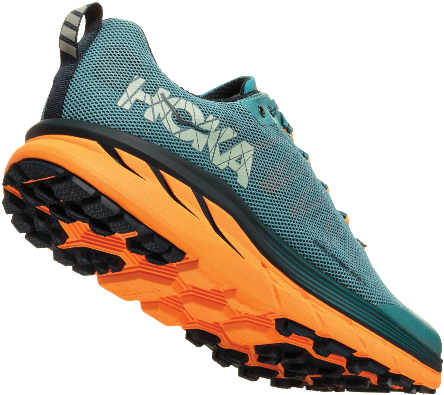 a9855ac6dff0 Hoka One One Challenger ATR 4 Running Shoes Men orange teal at ...